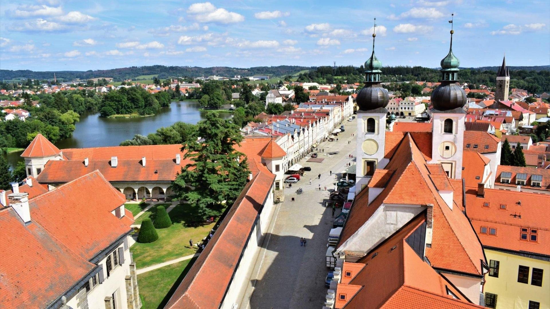 Nejkrásnější města v České republice (TOP 10) - Telč