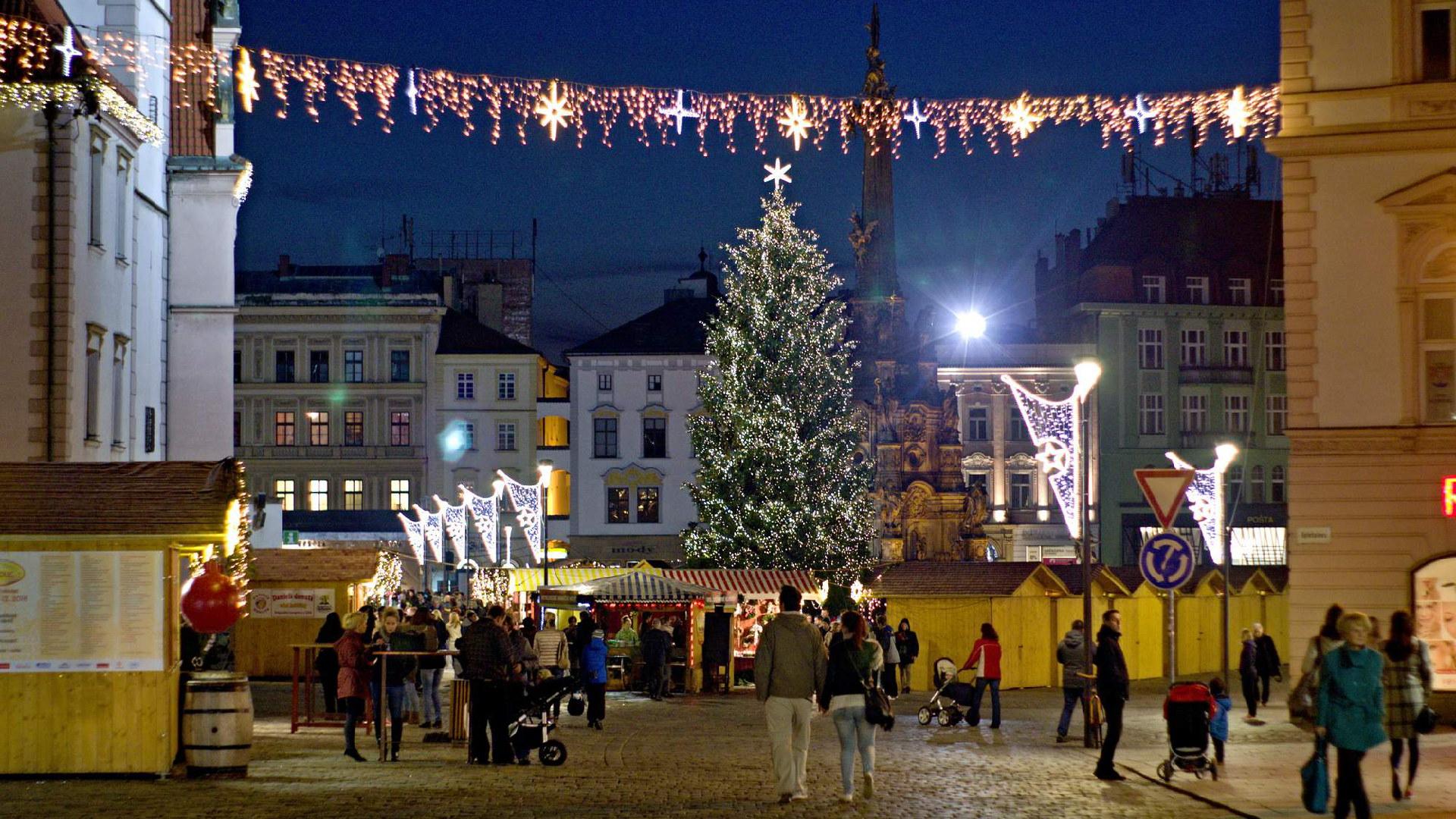 Vánoční trhy Olomouc 2020 program
