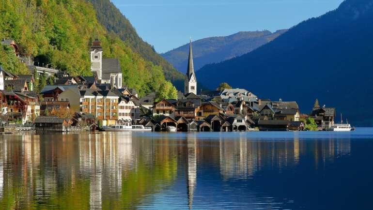 Nejkrásnější rakouská jezera