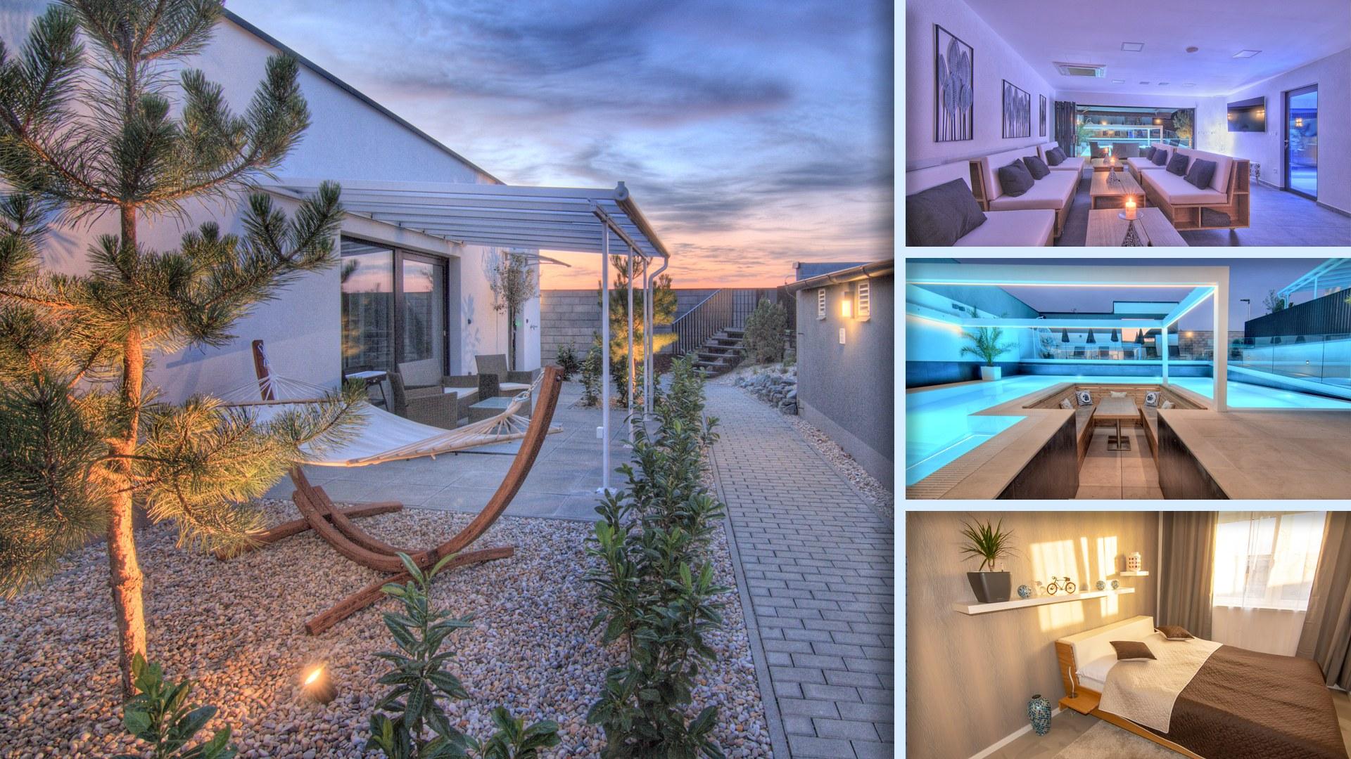 Apartmány Ladná - Luxus v americkém stylu