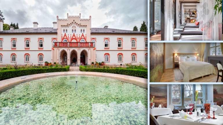 Chateu Herálec je luxusní 5hvězdičkový skvost