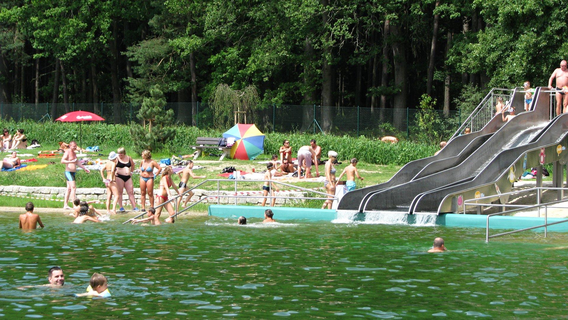 Koupaliště Borek u Čeckých Budějovic – Parádní letní osvěžení