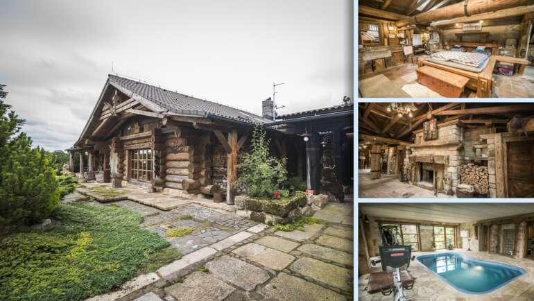 Luxusní dřevěný srub Líny na Mladoboleslavsku