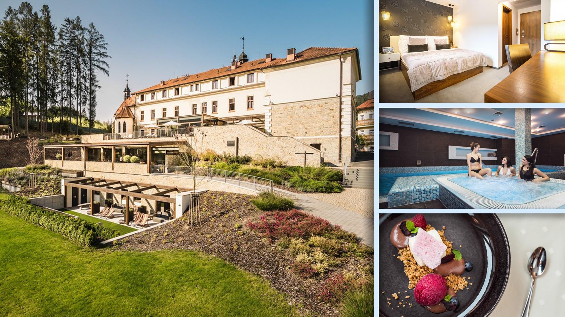 Hotel Augustinský dům - To nejlepší z Luhačovic, důraz na relax a wellness