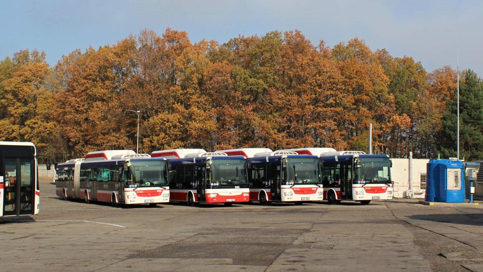 ČSAD Kladno MHD, autobusy, jízdní řády a vše o firmě