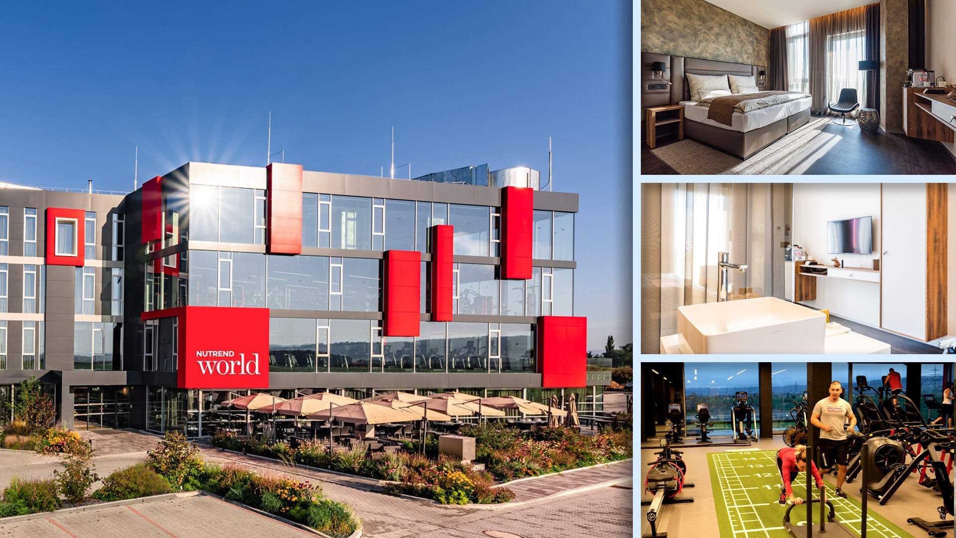 Nutrend World - Hotel pro milovníky zdravého životního stylu