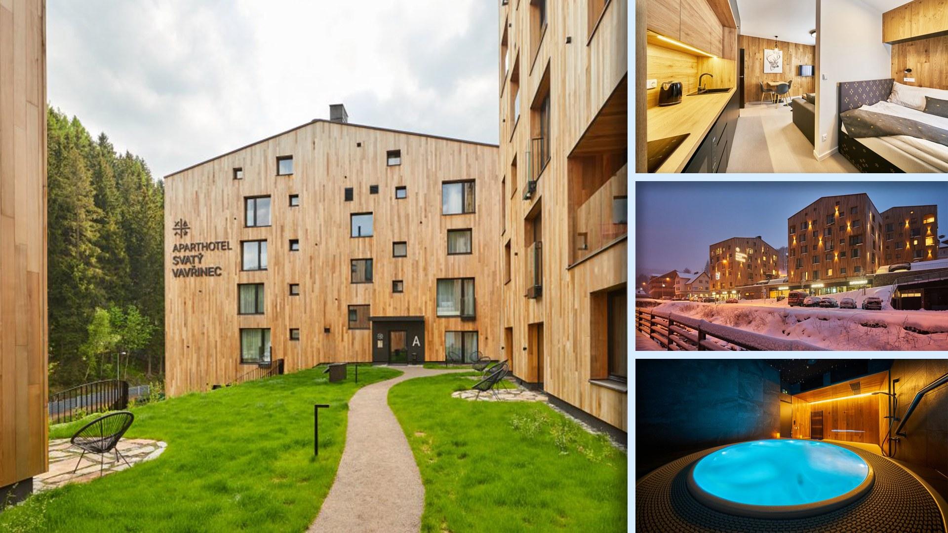 Aparthotel Svatý Vavřinec - Luxus v srdci Pece pod Sněžkou