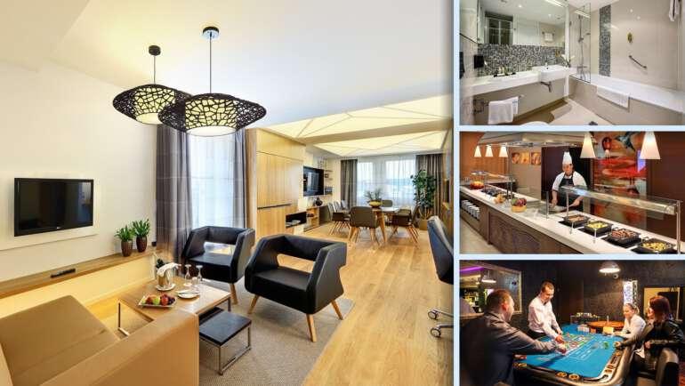 Hotel Duo - Obrovský hotel s velkým bazénem a nabídkou služeb
