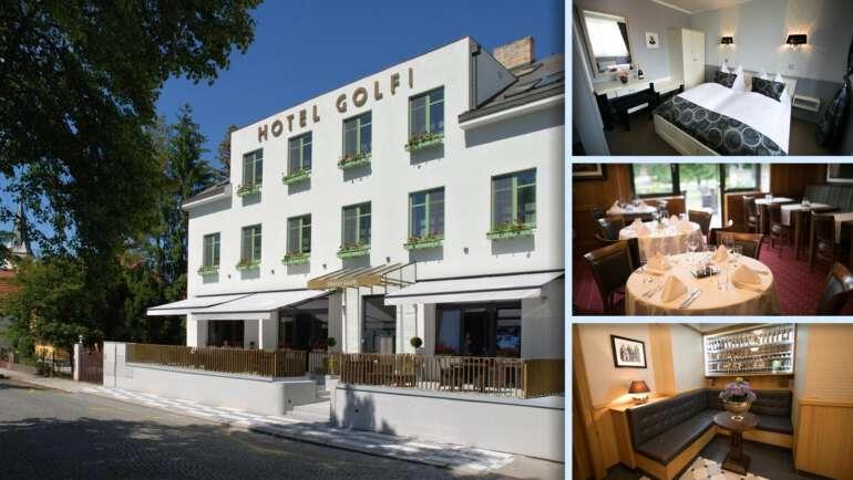 Hotel Golfi - Styl první repubiky v Poděbradech