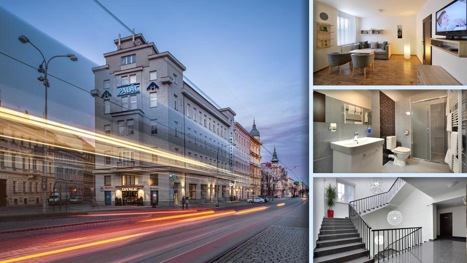 Hotel Palác - Elegantní a stylový hotel v historickém centru Olomouce