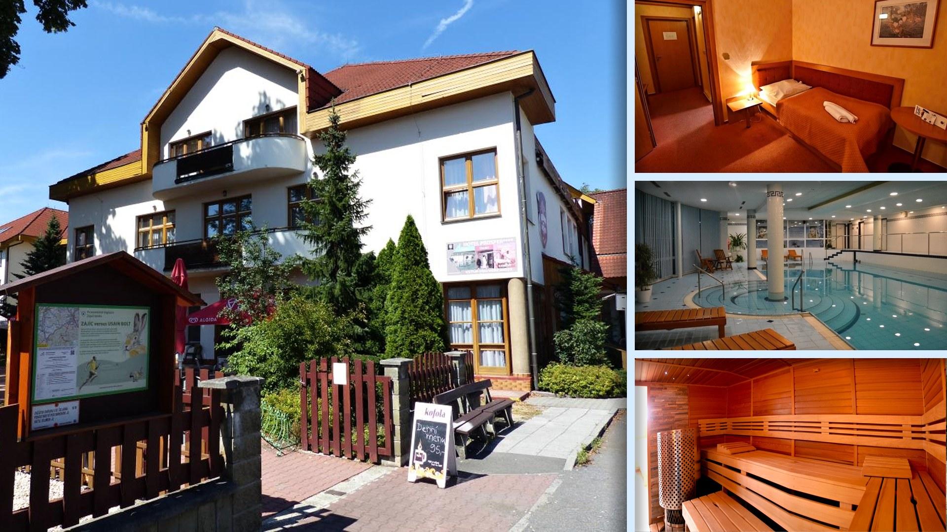 Hotel Prosper v Čeladné - Na golf a vrcholky Beskyd je to jen kousek + kvalitní wellness