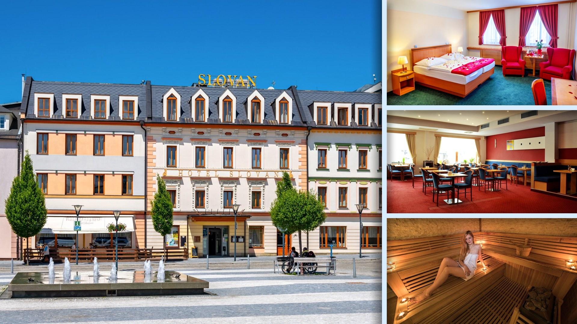 Hotel Slovan Comfort - To nejlepší v centru města Jeseník