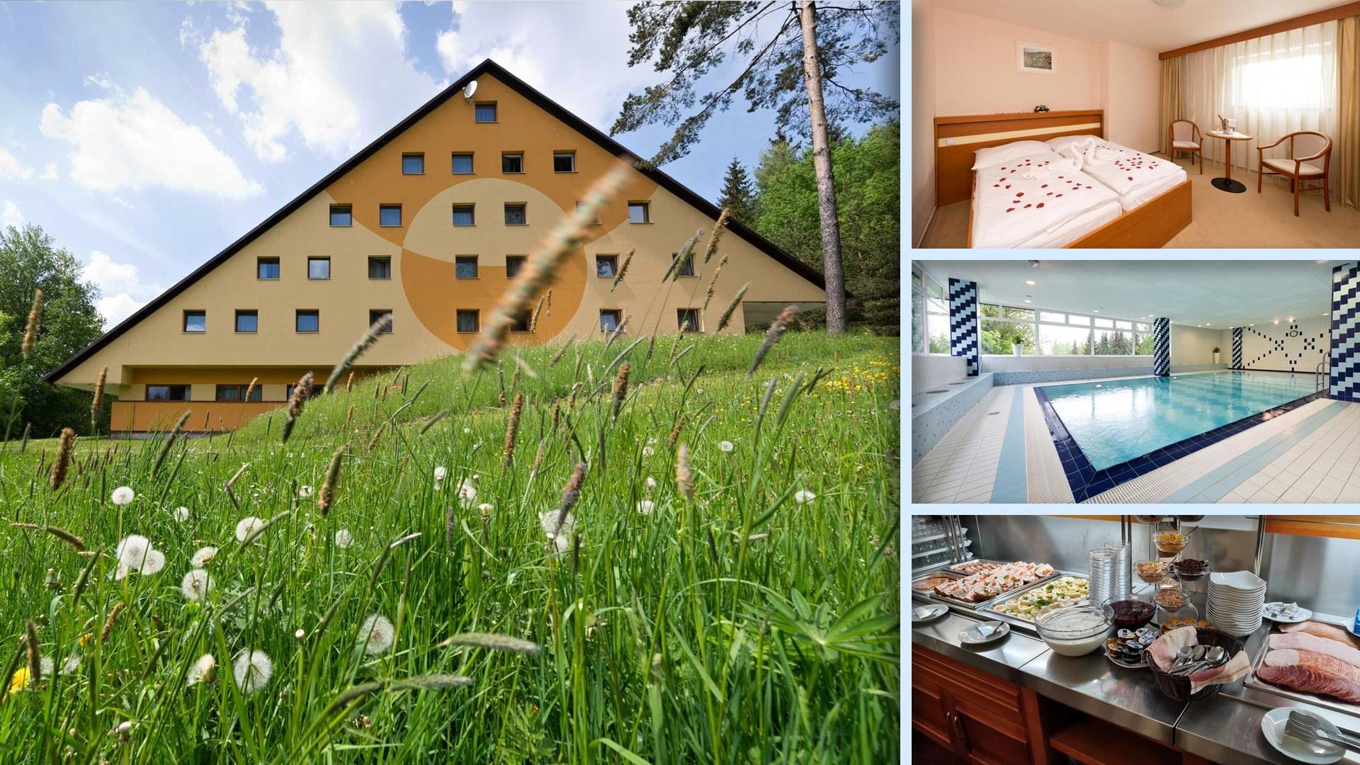 Hotel Svratka na Vysočině u ski areálu a golfového hřiště