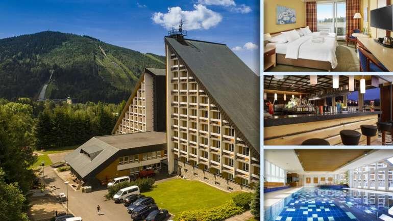 Orea Resort Sklář - Velký, luxusní a pohodlný hotel
