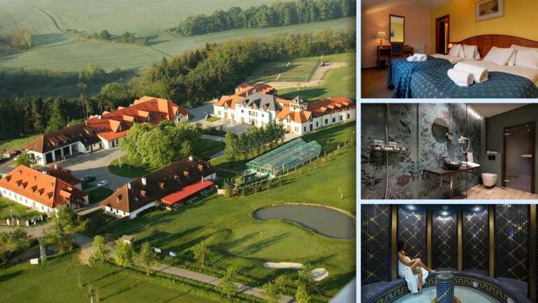 Darovanský Dvůr - Wellness & Golf Hotel, který nabídne pohodlí