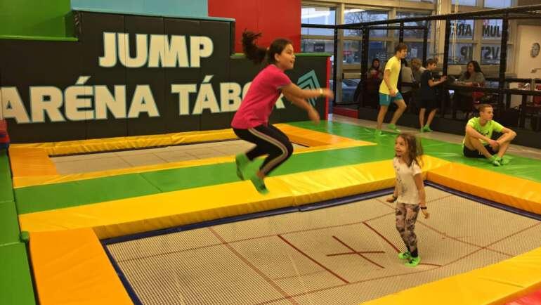 Jump aréna Tábor – Ceník, rezervace, tipy, průvodce