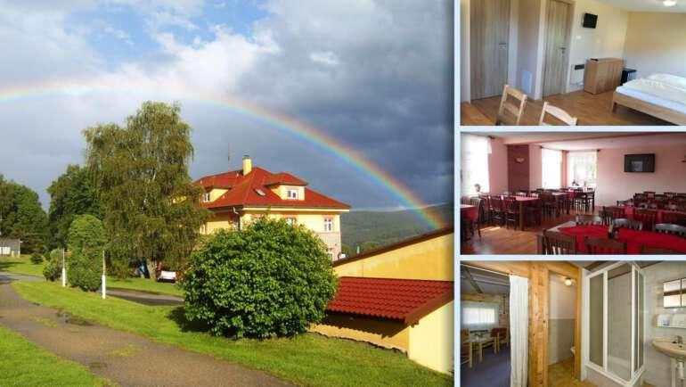 Pension Vyhlídka a bungalovy - jednoduché ubytování na břehu Lipna