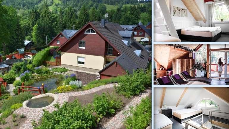 Resort Uko v Bedřichově - Krásné ubytování, výborné služby