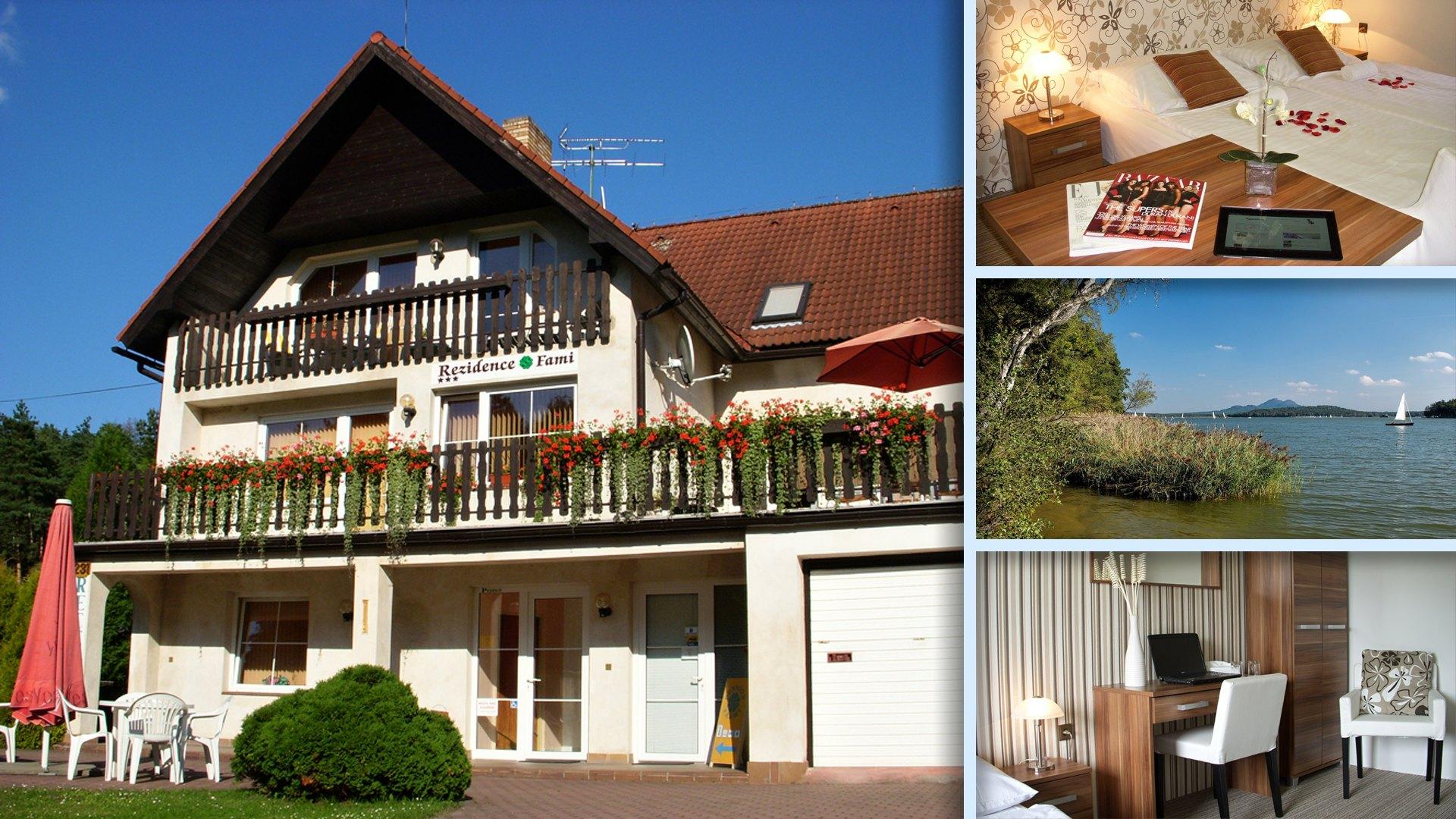 Ubytování Rezidence Fami De Luxe Design u Starých Splavů