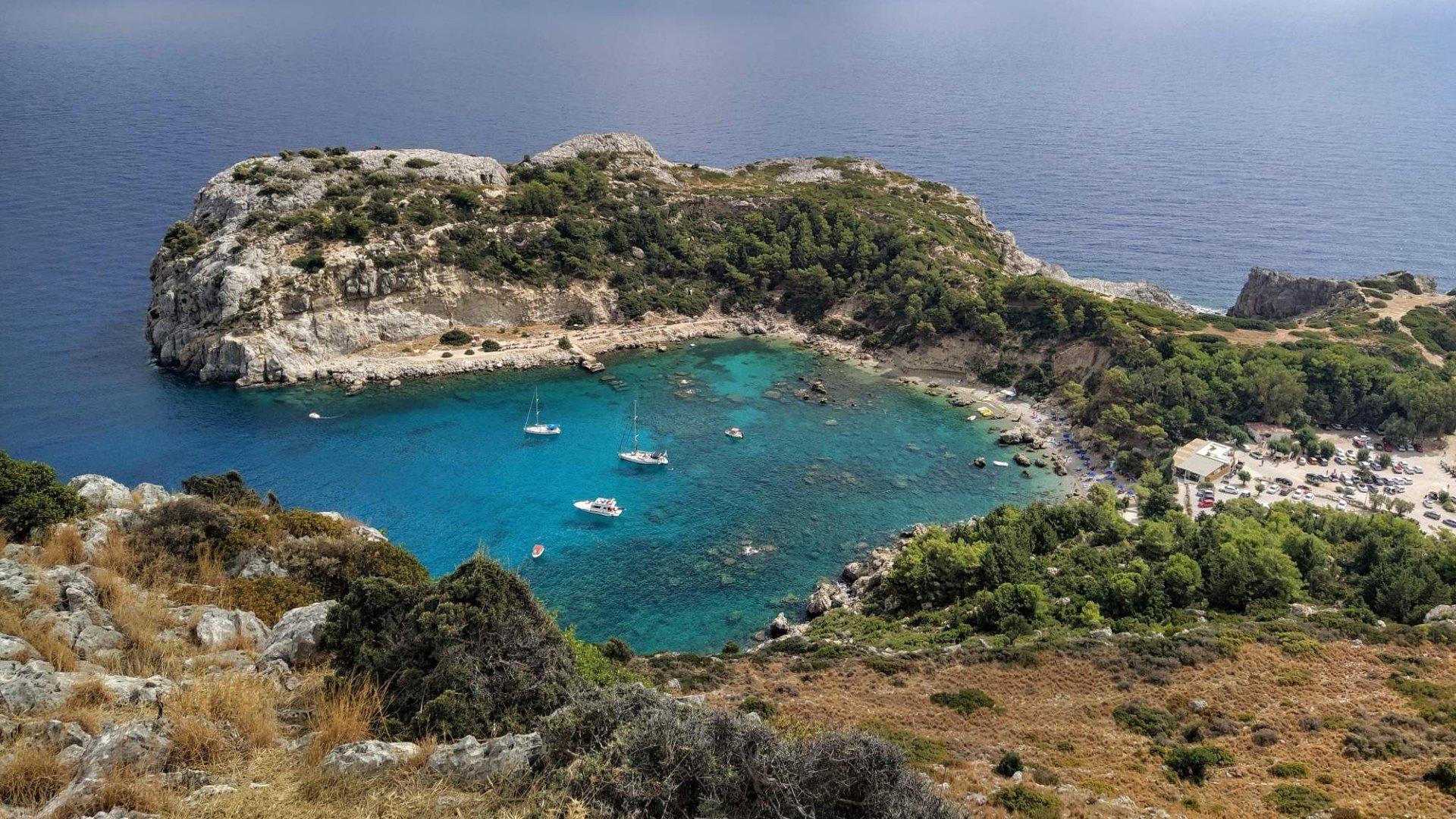 Ostrov Rhodos – Pláže, zajímavosti, vše co potřebujete vědět pro dovolenou