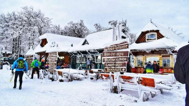 Kam v zimě na výlet v Česku