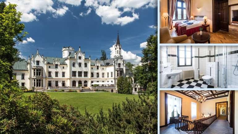 Hotel Lázně Vráž - Stylové lázně na zámku