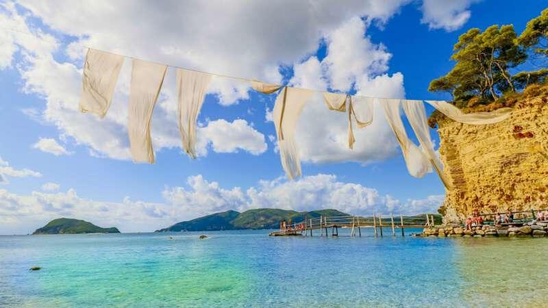 Počasí Zakynthos – Aktuální předpověď, dlouhodobé statistiky, léto