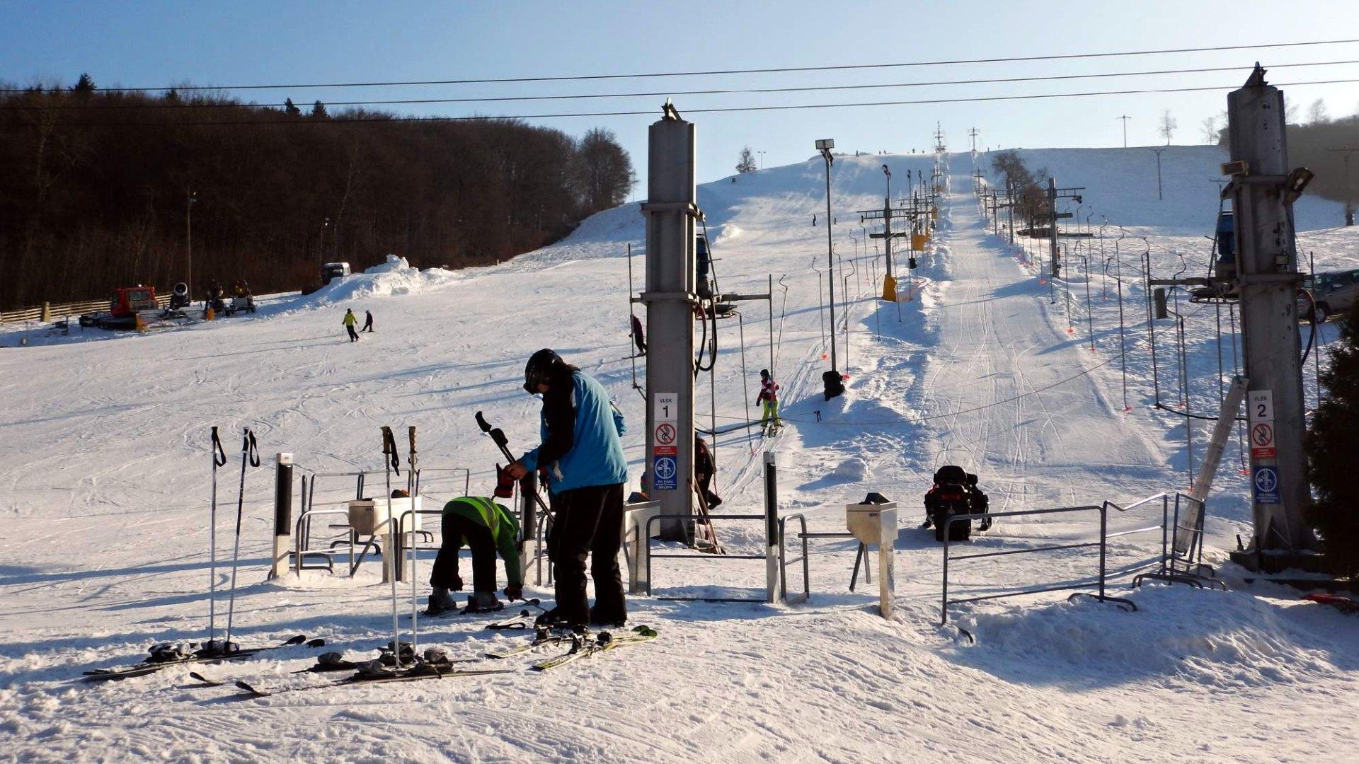 Ski Osvětimany – Průvodce lyžařským parkem a sjezdovkou