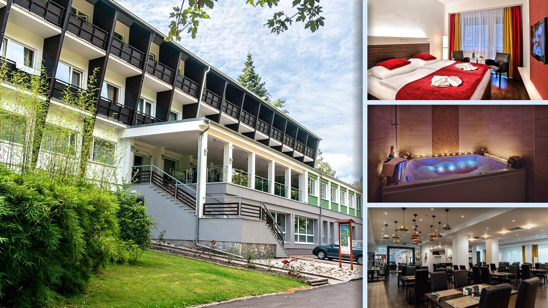 Wellness hotel Green Paradise - Moderní, pohodlný, s wellness