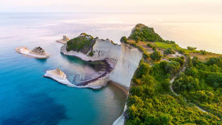 Korfu mapa – Nejlepší mapy ostrova Korfu ke stažení