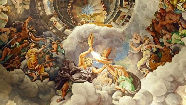 Římští bohové – Seznam, legendy a srovnání s řeckými bohy