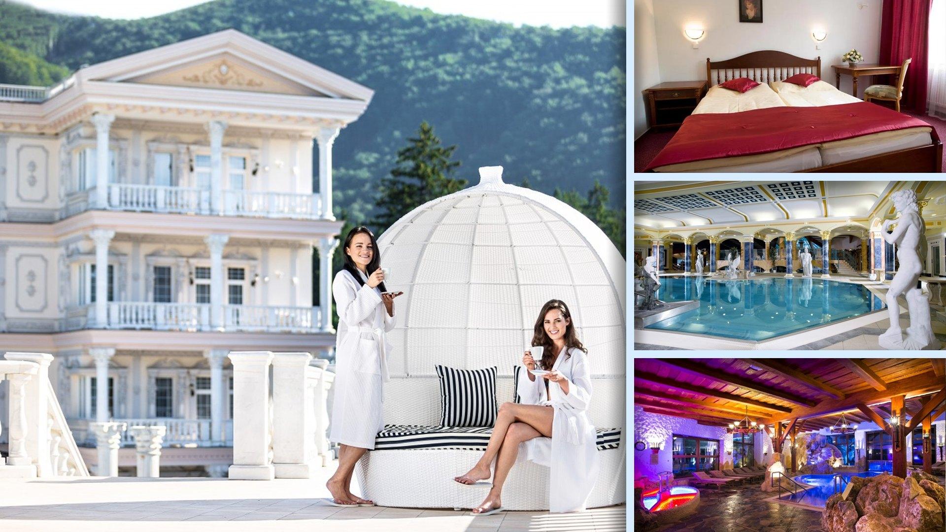 Hotel Aphrodite - Opulentní lázeňský hotel v antickém stylu