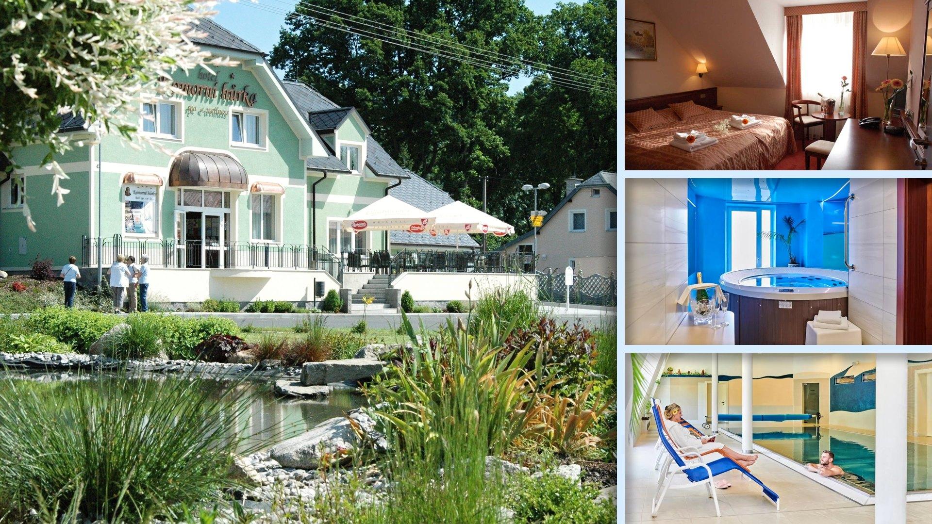 Komorní Hůrka - Moderní hotel s výbornými službami blízko Františkových Lázní