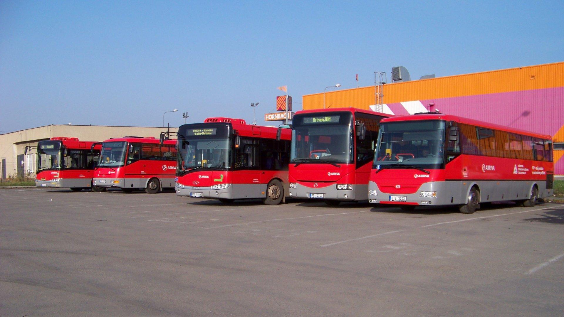 Arriva Morava jízdní řády, jízdenky, představení firmy