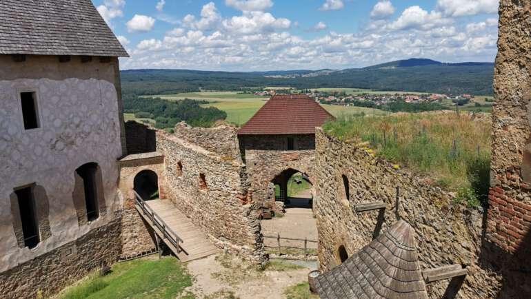 Hrad Točník průvodce – Akce, mapa a tajná místa
