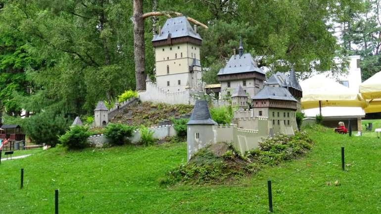 Park Boheminium Mariánské Lázně – Průvodce miniaturparkem