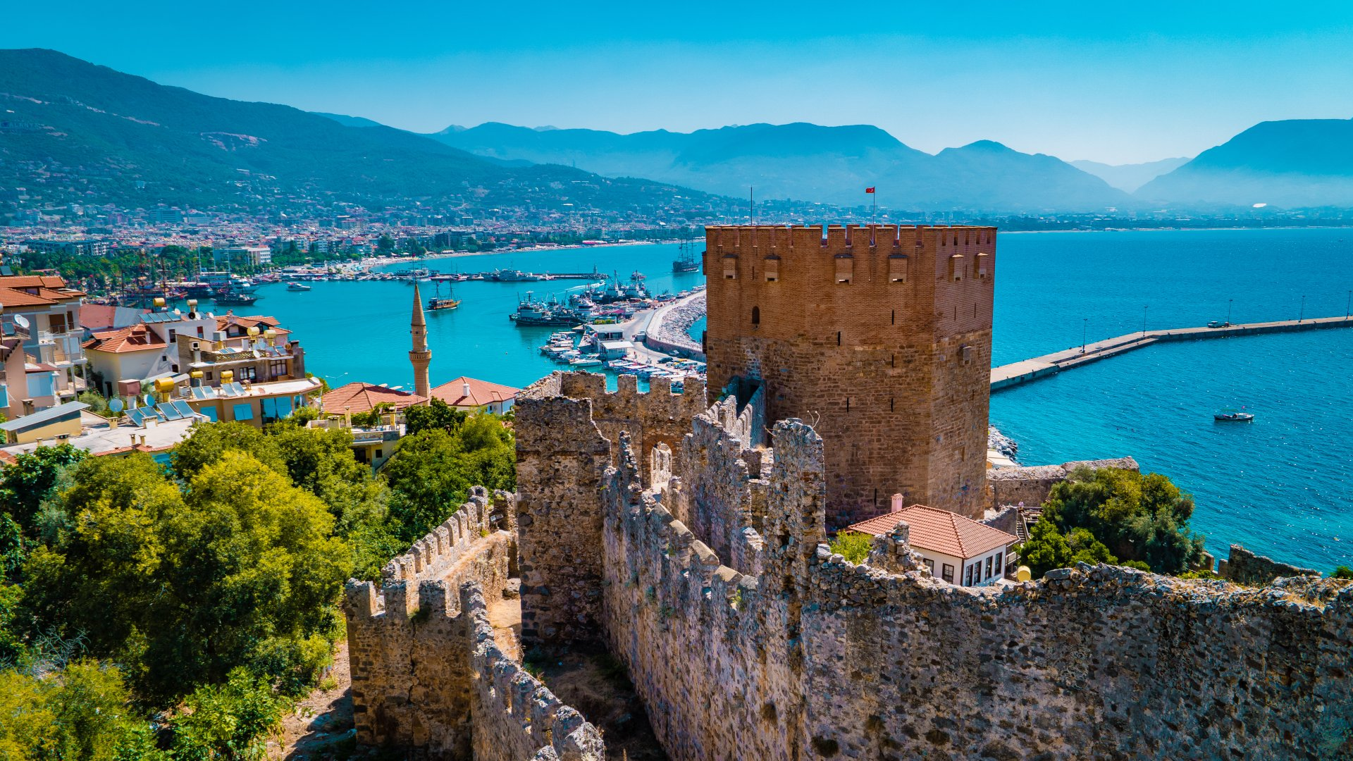 Antalya v Turecku a vše co potřebujete vědět pro krásnou dovolenou