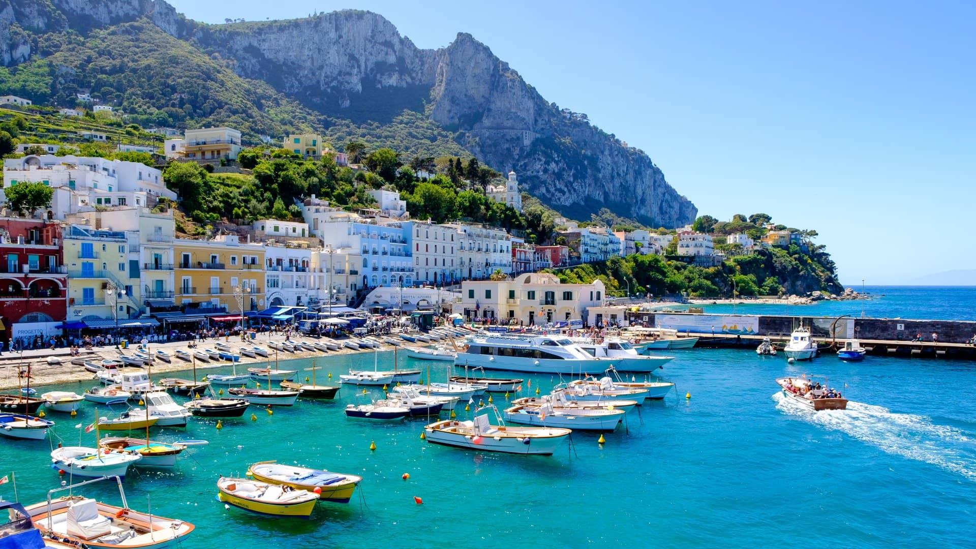 Ostrov Capri – Poznejte italský ráj nedaleko Neapole