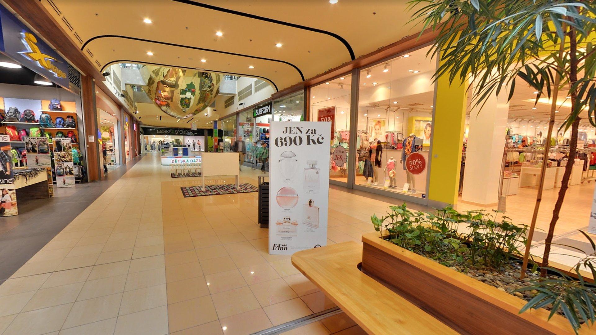 OC Nisa Liberec – Kino, obchody, Albert, moje tipy