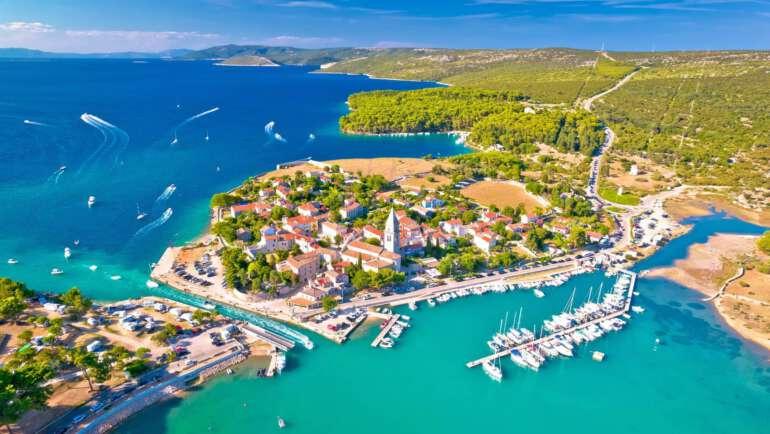Ostrov Cres Chorvatsko – Pláže, ubytování, průvodce dovolenou