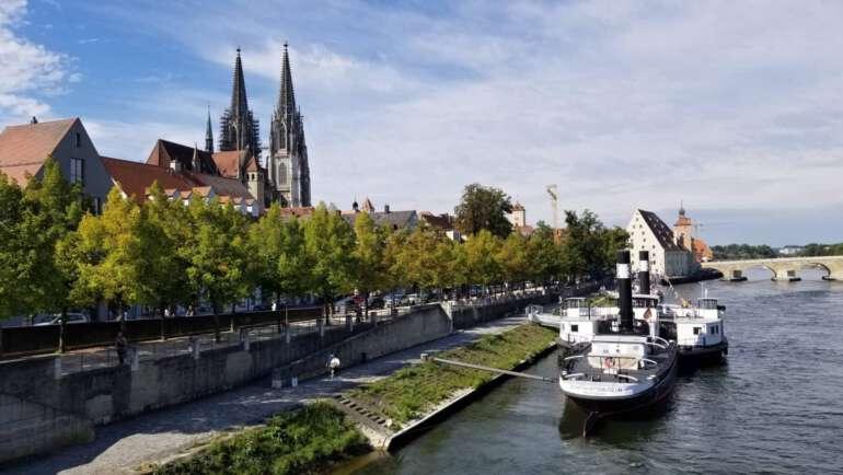 Regensburg vánoční trhy a průvodce městem
