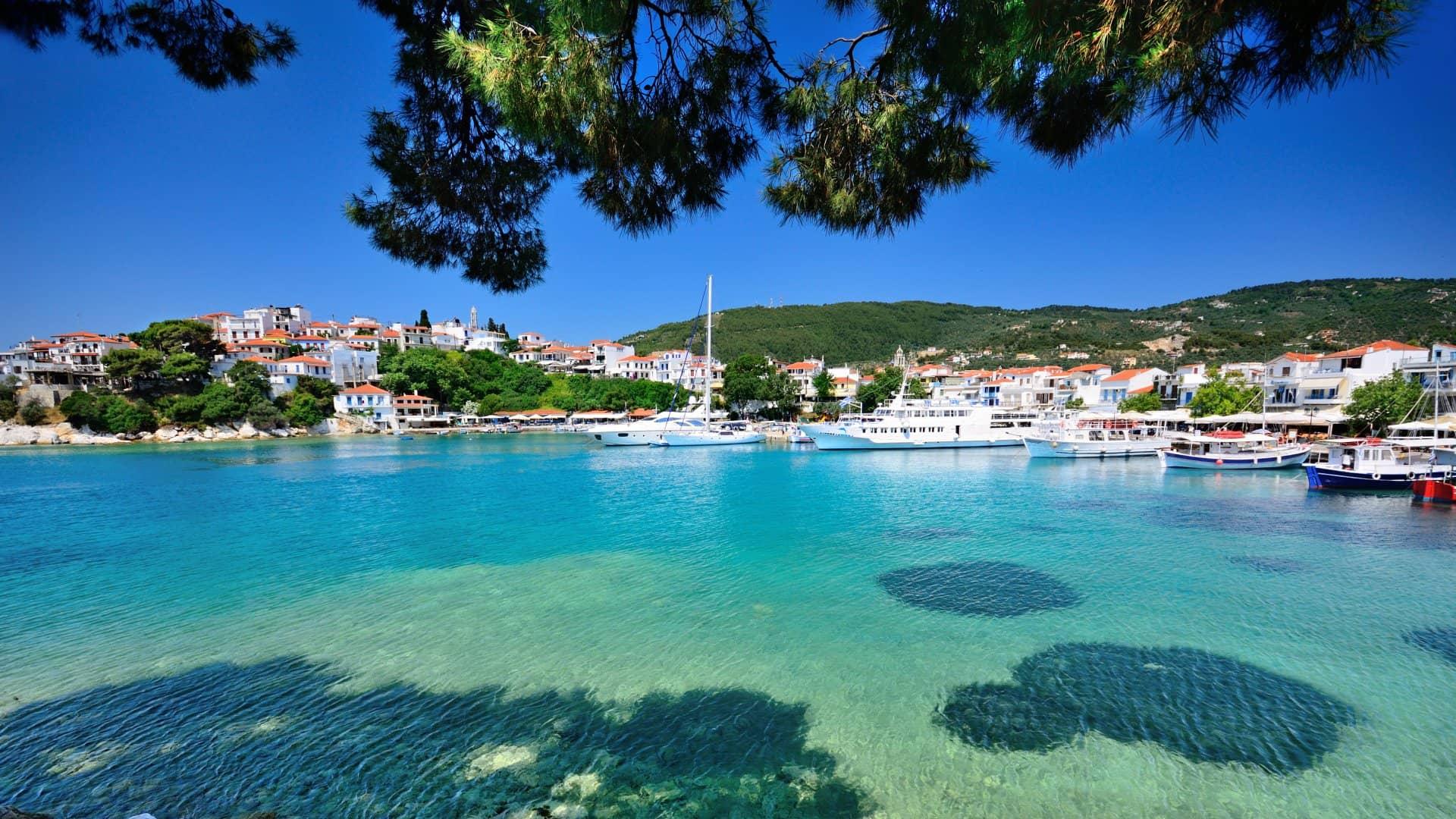 Ostrov Skiathos – Méně známý řecký ostrov